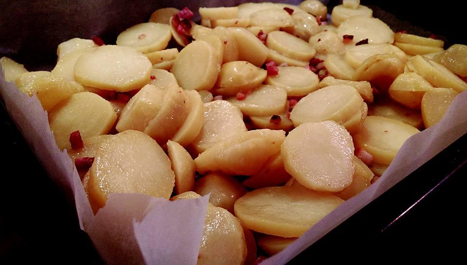 Pečení brambor
